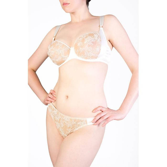 Serena Ivory Thong - Harlow & Fox - Evellier