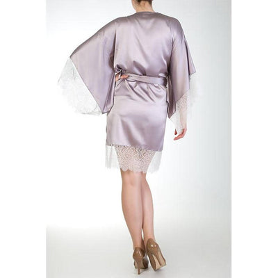 Eleanor Lilac Robe - Harlow & Fox - Evellier