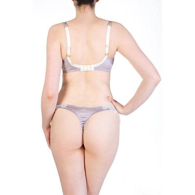 Eleanor Lilac Thong - Harlow & Fox - Evellier