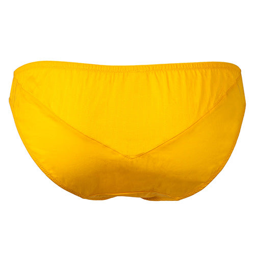 Angular Brief Yellow - Rossell London - Evellier