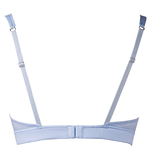 Pointelle Cosa Bra Blue - Rossell London - Evellier