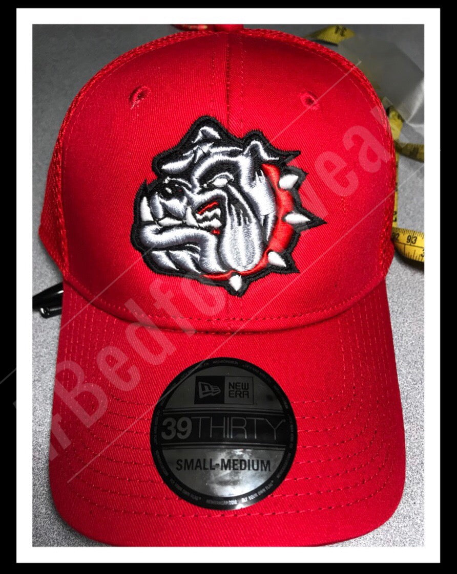 Bulldog 3D Fitted Ball Cap
