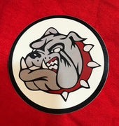 "Bulldog 3"" Stickers"