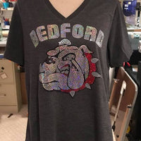 Full Spangle Bulldog T-shirt