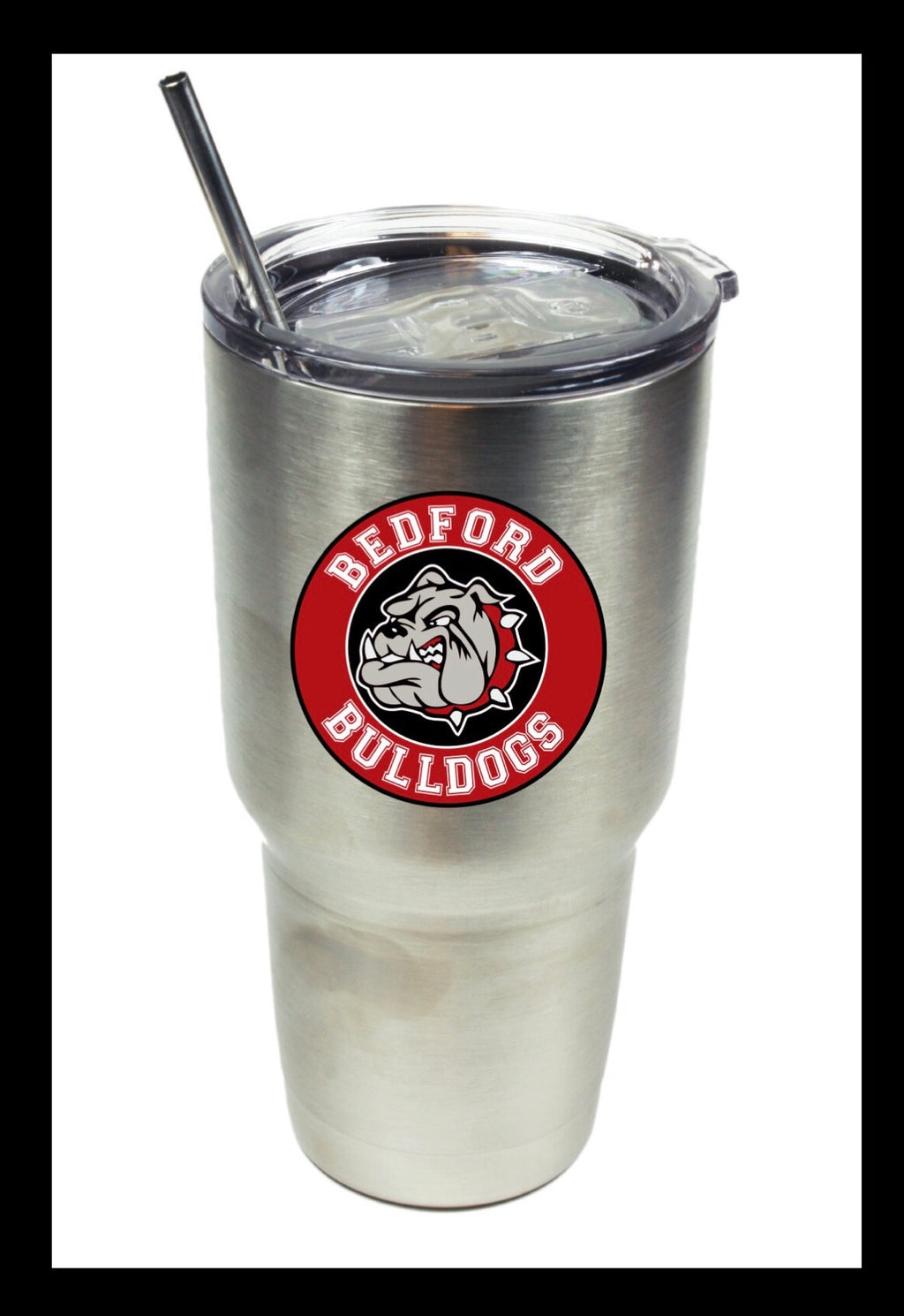 Bedford Bulldog 17oz Stainless Steel Tumbler