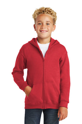 Youth Gildan Full zip