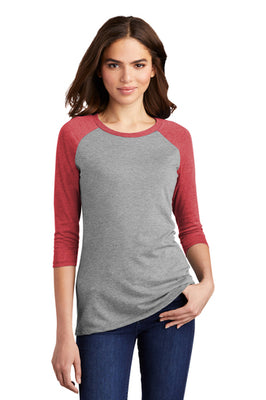 District ® Women's Perfect Tri ® 3/4-Sleeve Raglan