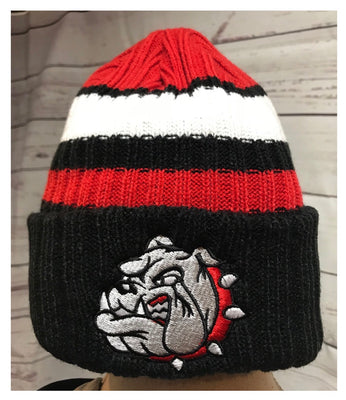 New Era Bulldog Ribbed Tailgate Beanie