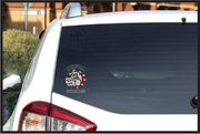 BEDFORD BULLDOGS Window Cling