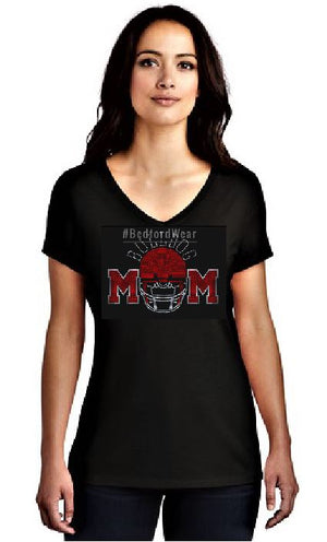 Bulldog Moms Spangle Tee
