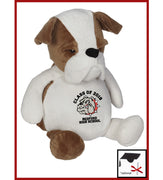 Buster The Bulldog - Custom Embroidered Buddy
