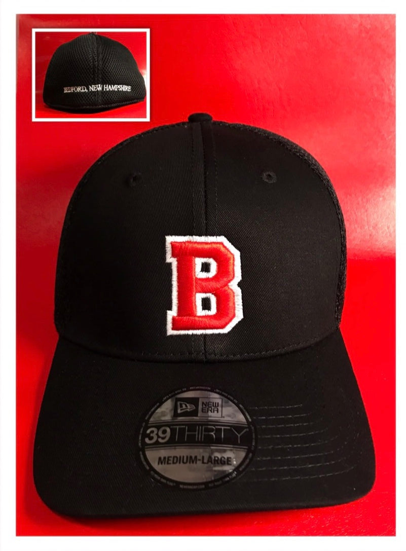 3D B - Bedford Fitted Ball Cap