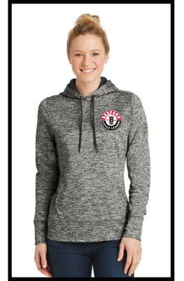 Ladies Posi Charge Heather Fleece Hoodie