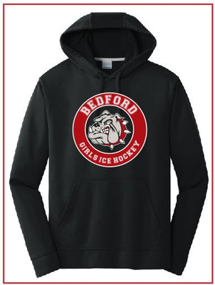 BHS Girls Ice Hockey Performance Hoodie