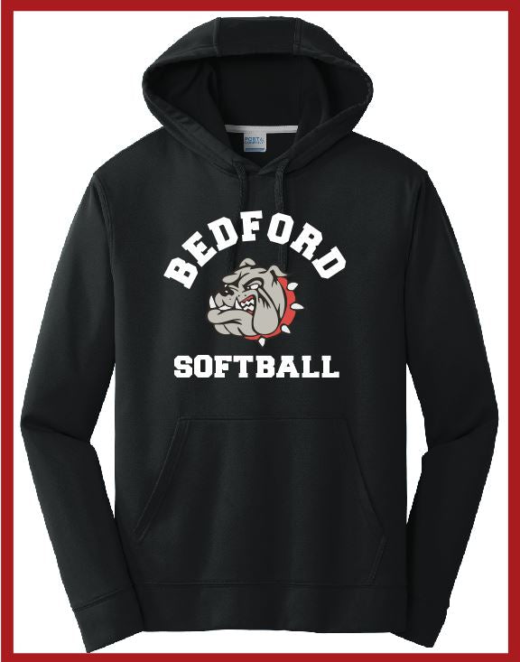 Bedford Softball Unisex Performance Hoodie