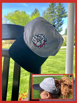 Ladies Otto Cap Bulldog PonyTail Cap