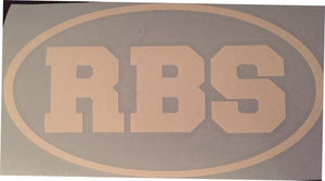 RBS Vinyl Window Decal 7x4