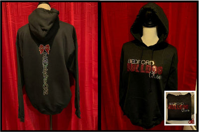 Bedford Bulldog Cheer Spangle Hoodie