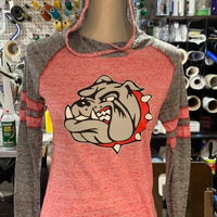 Holloway Ladies Advocate Hoodie with Bulldog