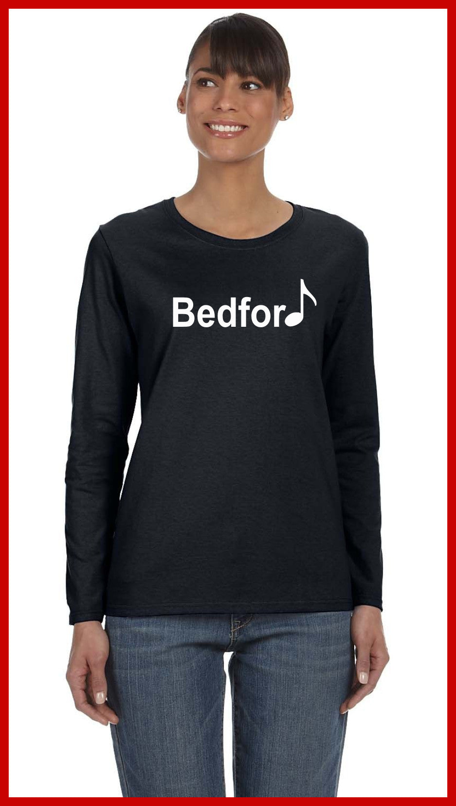 Bedford Pep Band LS Tees