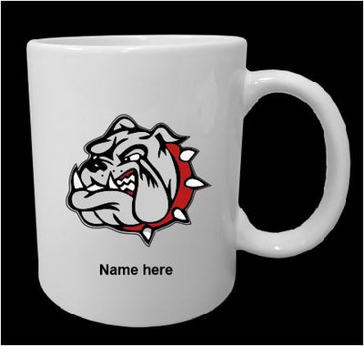Bulldog 11 oz Printed Coffee Mug