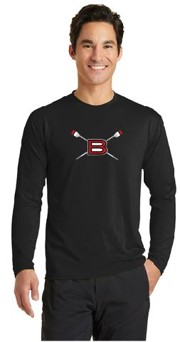BHS Crew LS Performance Tee