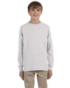 Gildan youth 100% cotton long sleeve