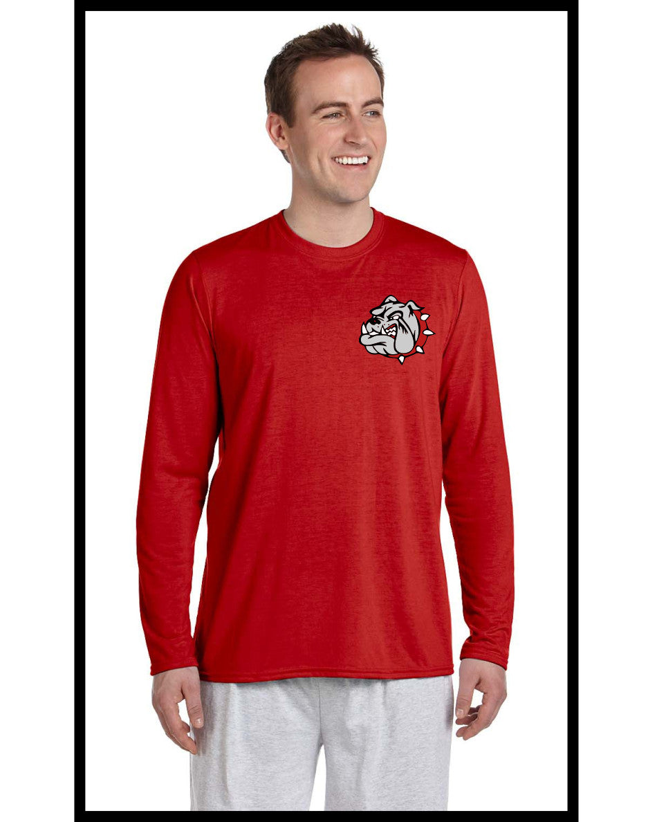 Bulldog Long Sleeve Performance Tee