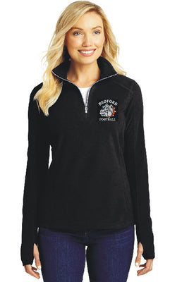 Bulldog Football PA Microfleece 1/2-Zip Pullover