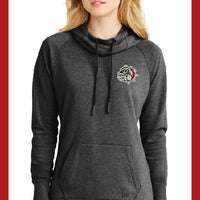 New Era Ladies Tri Blend Bulldog Hoodie