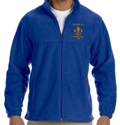 Full Zip Troop 414 Embroidered Fleece Jacket