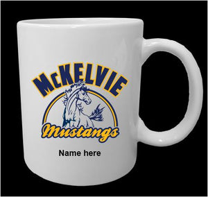 McKelvie 11 oz Printed Coffee Mug