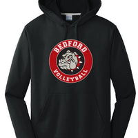 BHS Volleyball Performance Hoodie