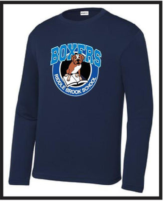 Riddle Brook SportTek Long Sleeve Peformance Tee