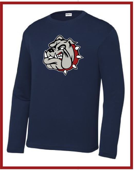 Bulldog SportTek Long Sleeve Peformance Tee