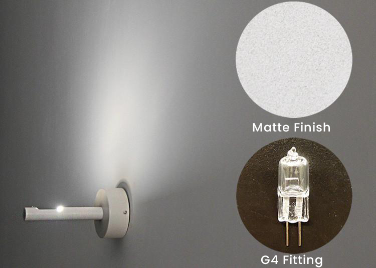 Pinne minimalist Wall Light / Wall Sconce