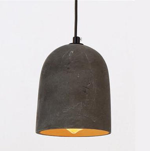 Allegro Concrete Dome Pendant Light