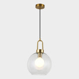 Manhattan Globe Glass Pendant Light