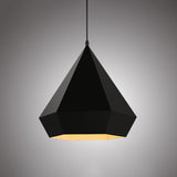Black Diamond Geometric Pendant Light