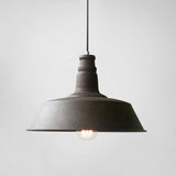 Vintage Industrial Pendant Light Rustic brown