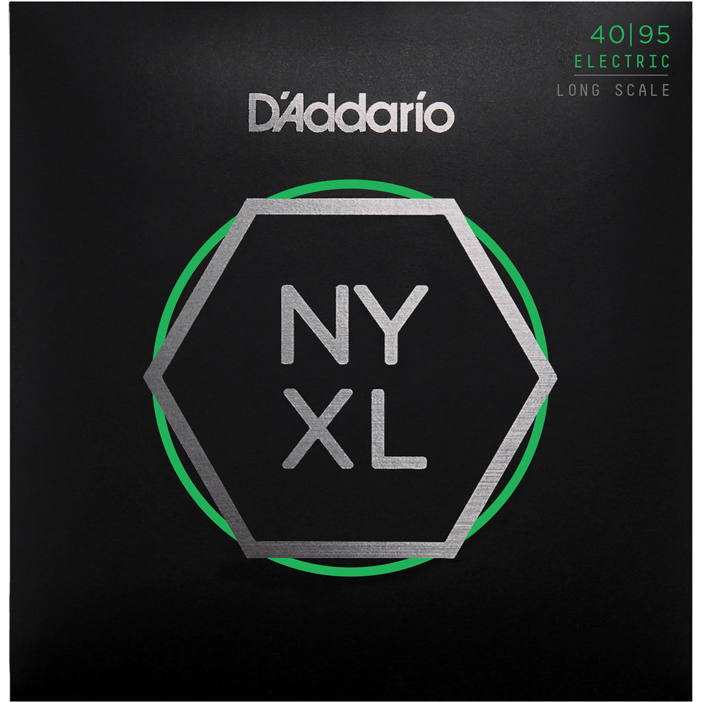 Encordado Daddario Nyxl4095 de Bajo 4 Cuerdas 040 New York