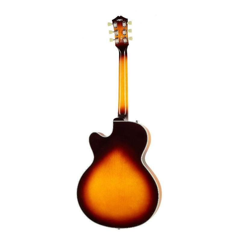 Guitarra Electrica Cort Yorktown Tab Hollow Body Series Tobacco Sunburst