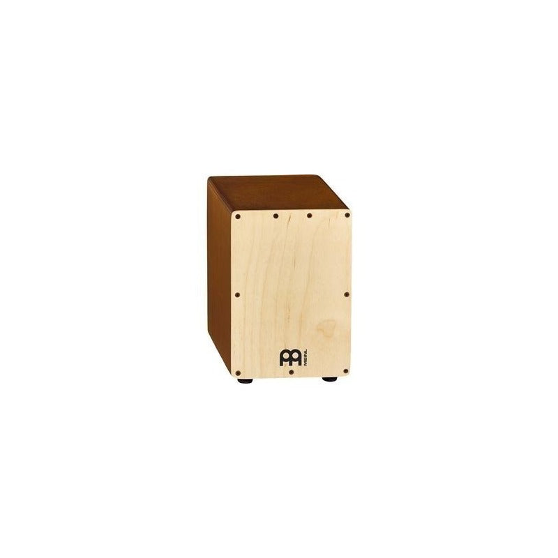 Mini Cajon Meinl Constuido En Madera De Birch Natural