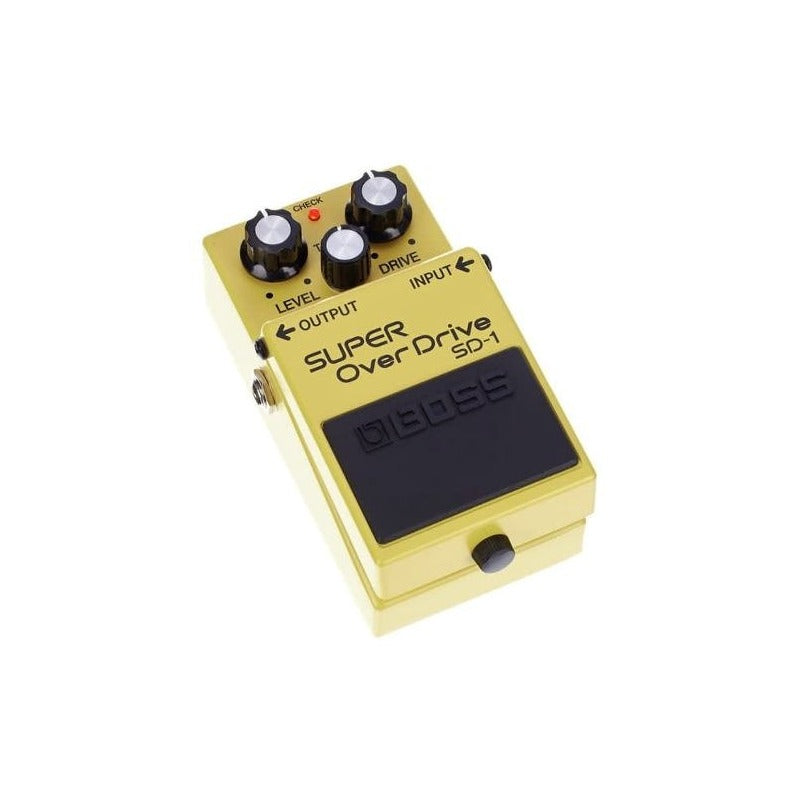 Pedal Boss Para Guitarra Super Over Drive Sd1 + Fuente