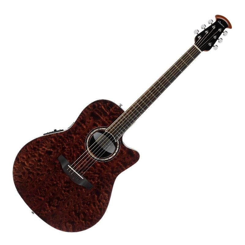 Guitarra Electroacustica Ovation Cs28p Tge Cutaway Tiger Eye