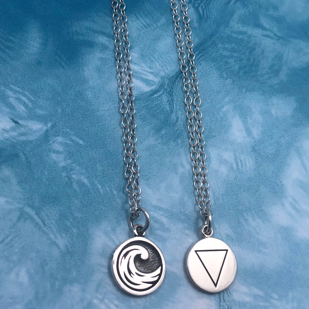 Water Element Necklace (reversible)