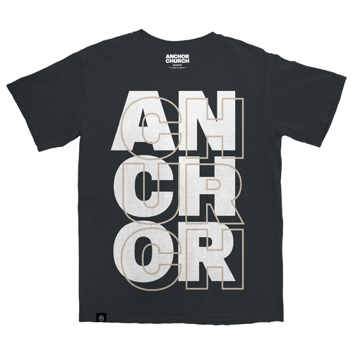 Anchor Church Black Tee-Shirt