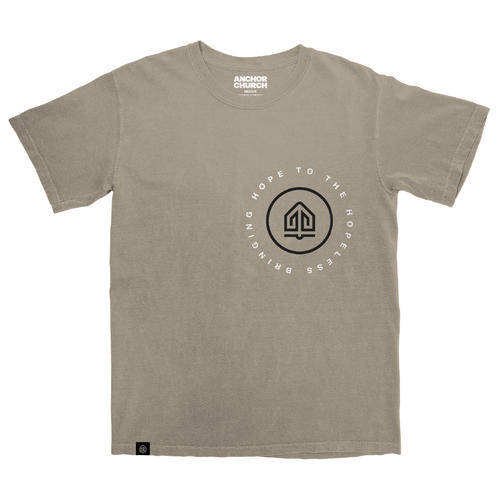 Anchor Church Tan Tee-Shirt