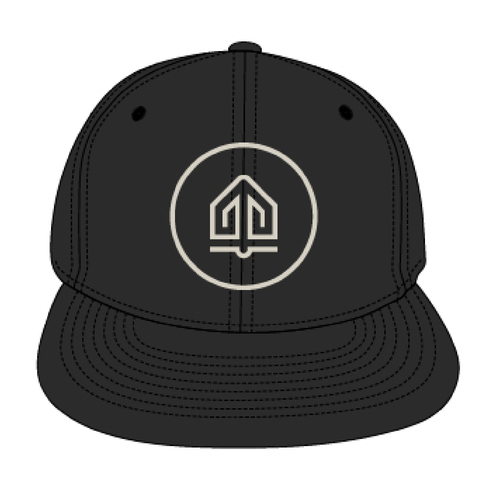 Anchor Hat Black