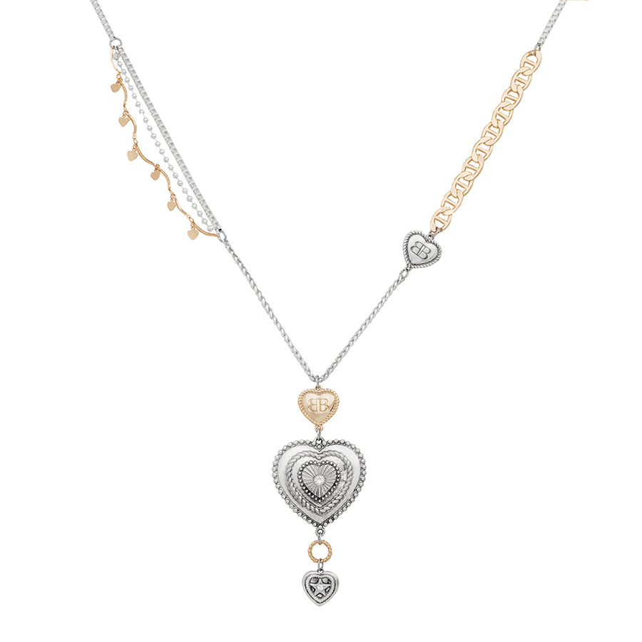 Cannes City of Love Heart Pendant Necklace